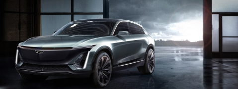 Cadillac Unviels Brand's First Full Electric Car
