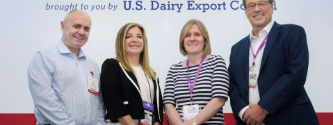 Largest US Dairy Participation at USDEC Gulfood Pavilion