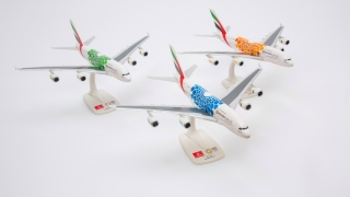 Emirates Expo 2020 Liveried Aircraft Models Take Off