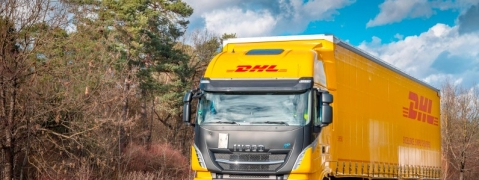 DHL Freight Pilots its First LNG Mega-Truck