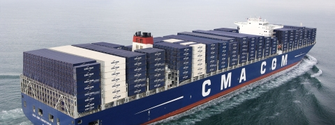 CMA CGM Orders 10 New Boxships from China