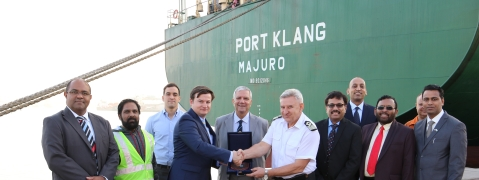 Sharjah Container Terminal Welcomes MV Port Klang