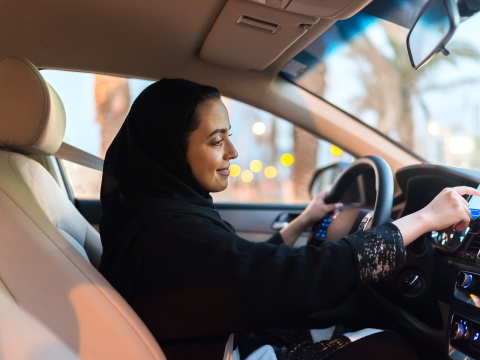Uber Gives Boost to  Women Drivers in Saudi Arabia