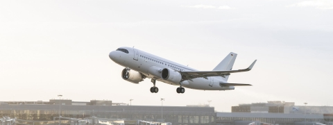 Airbus ACJ319neo Sets Record During Test-Flight