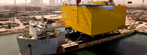 Drydocks World Recognized for Completing UAE's Heaviest Load-out