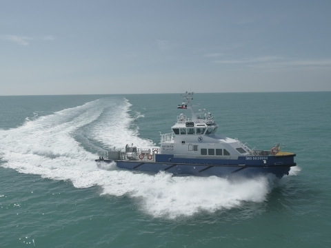 UAE's Grandweld Shipyards Delivers 4 Crew Boats to Kuwait Oil Company