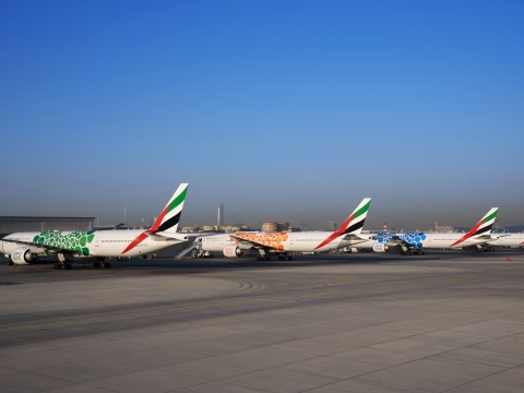 Watch: Emirates Completes Expo 2020  Livery on 40 Aircraft