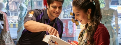 UAE's FedEx Delivery Manager App Now with SMS Functionality
