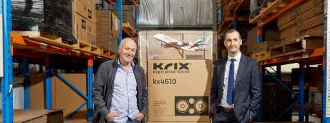 Emirates SkyCargo and Krix Celebrate 'Sound Partnership'
