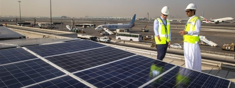 DXB Installs Region's Largest Airport Solar Energy System