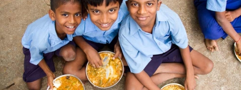 Akshaya Patra Foundation mid day meal