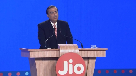 Reliance New Business, Mukesh Ambani India's first internet tycoon.