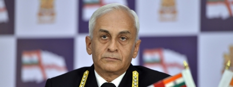 Navy chief Admiral Sunil Lanba