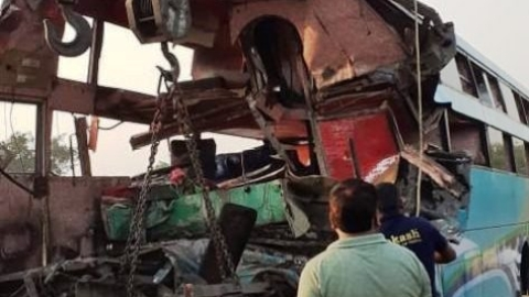 Greater Noida road accident