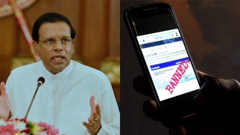 Social media ban in Sri-Lanka
