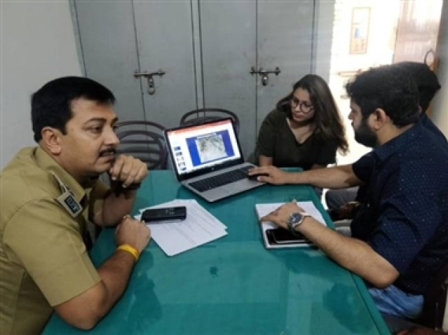 Meerut discussion about traffic