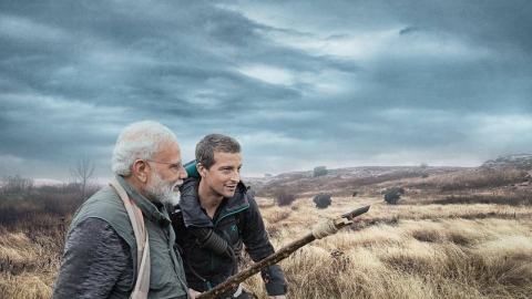PM Narendra Modi On Man Vs Wild