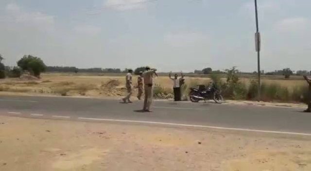 UP Police Vehicle Checking