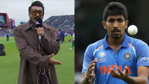 Ranveer Singh and Jasprit Bumrah