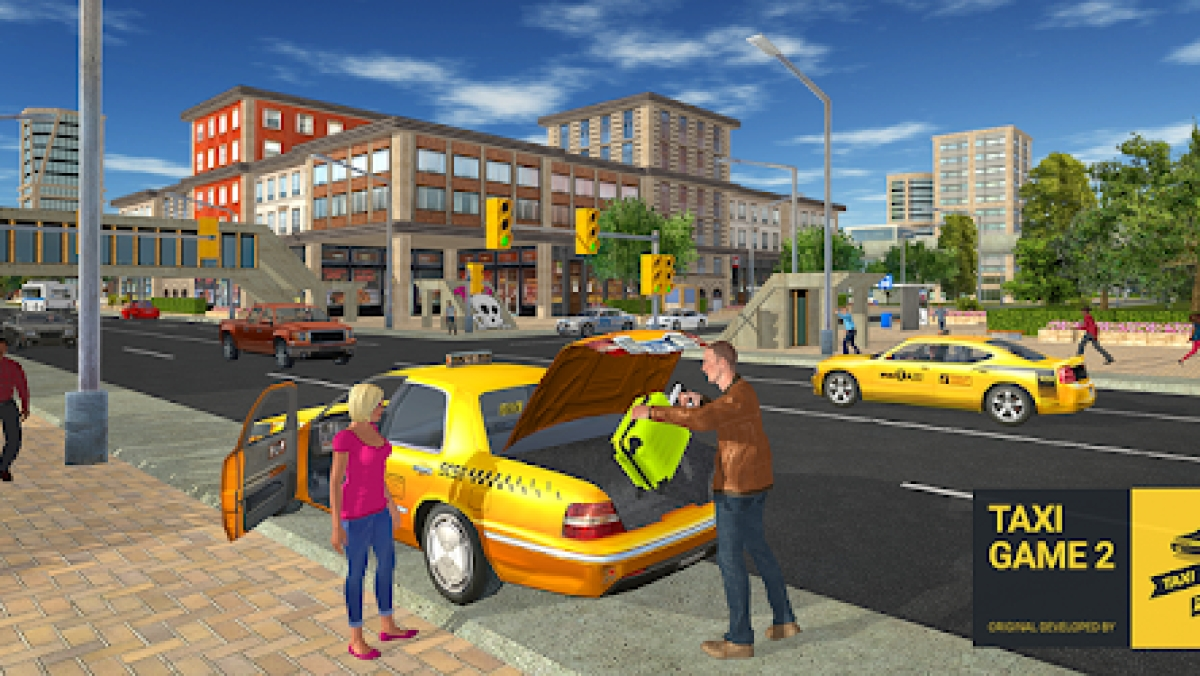 Taxi Driver Game 2
