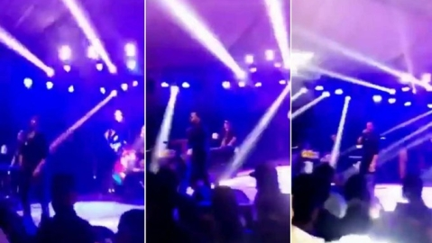 Singer Mika Singh Perform in Pakistan