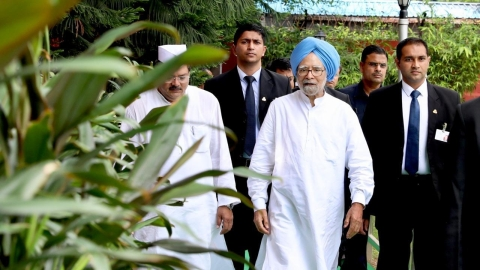 Former PM Manmohan Singh Security