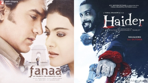Fanaa and Haidar