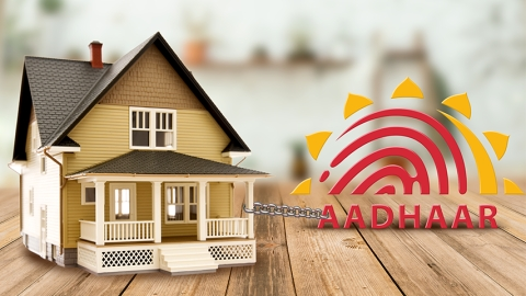 Urban Property to be linked to Aadhar