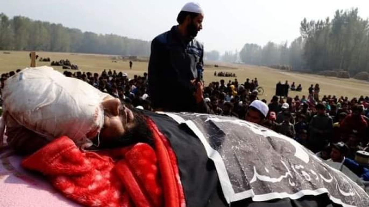Terrorist killed by Indian Army