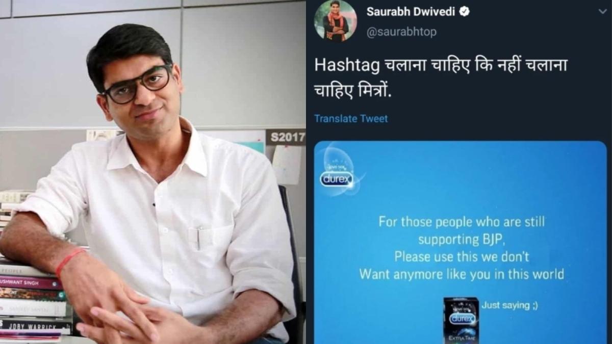 The Lallantop Saurabh Dwivedi Tweet