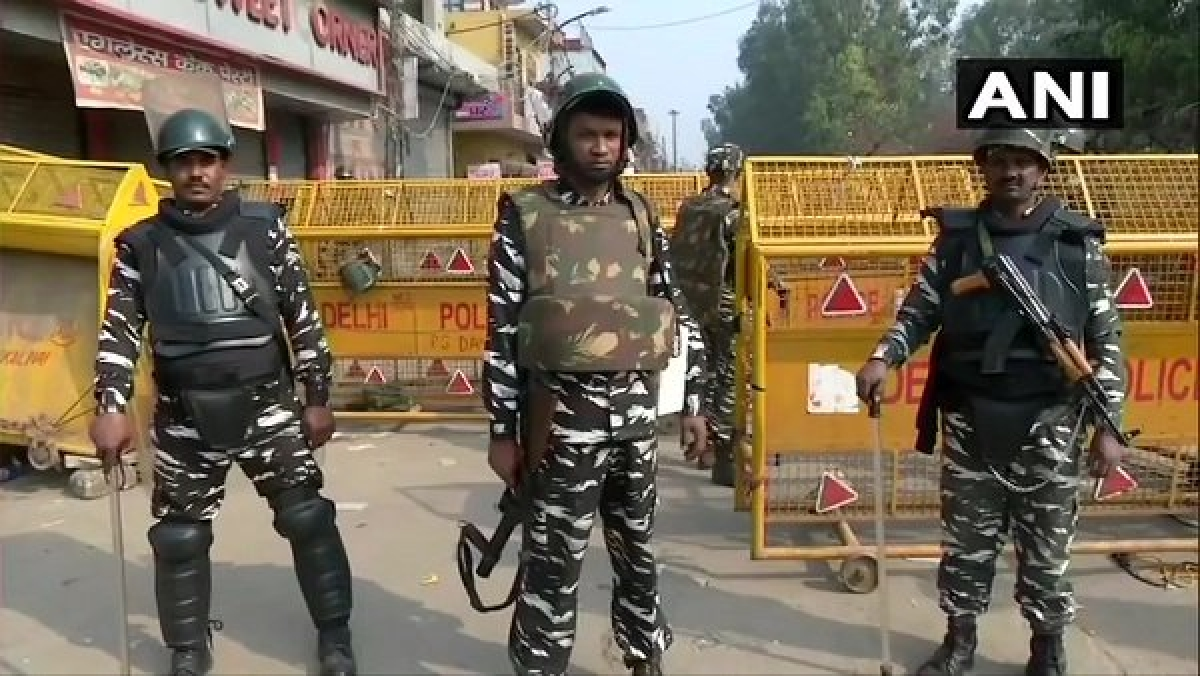 Rapid Action Force Deployed in Delhi