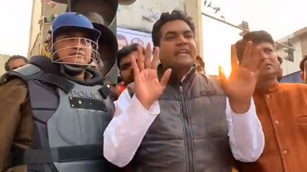 Case Registered Against Kapil Mishra