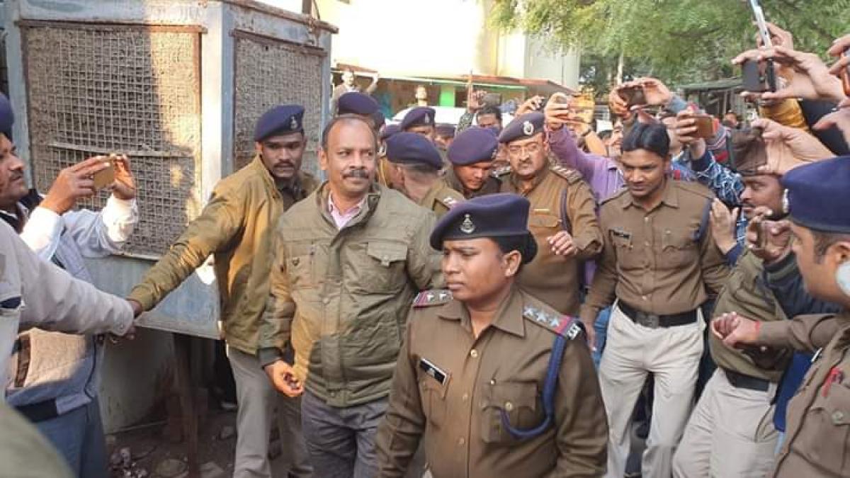 SDM Anil Sapkale Arrested