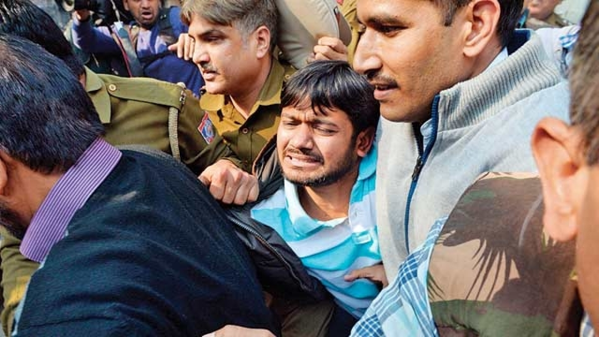 Kanhaiya kumar sedition case