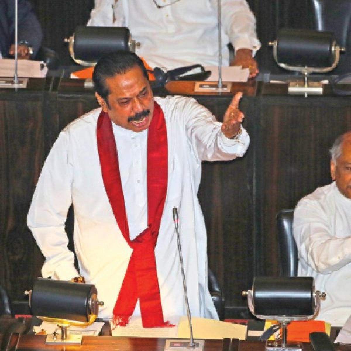 ரணகள ராஜபக்சே!