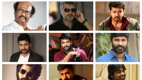 Kollywood heroes
