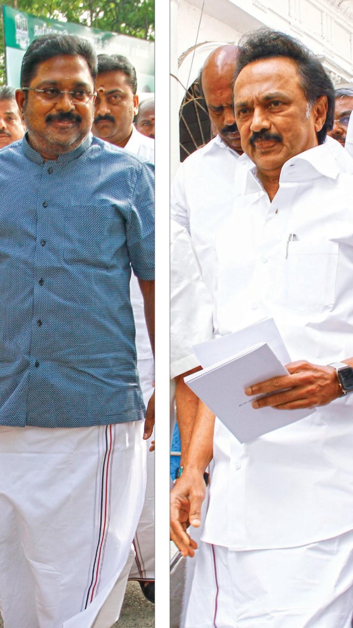 மிஸ்டர் கழுகு: திருவாரூர் தேர்தல் ரத்து... தி.மு.க-வில் நடந்த உள்குத்து!