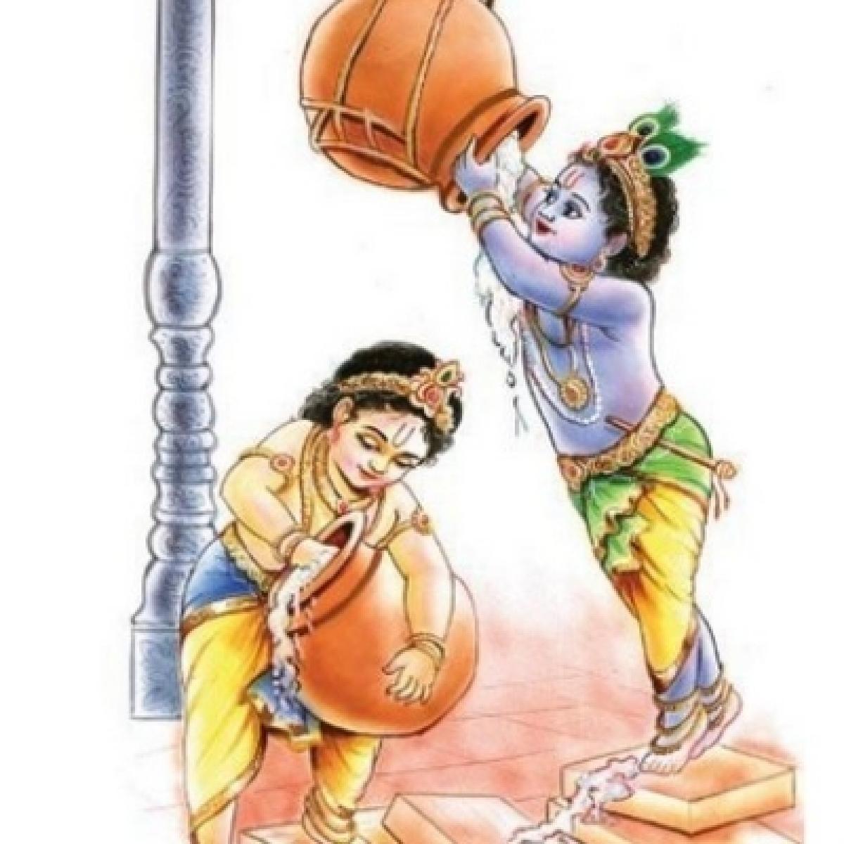 தினம் ஒரு திருப்பாவை - 6 ஆண்டாள் பாடும்... கிருஷ்ணரின் பால லீலைகள்! #MargazhiSpecial