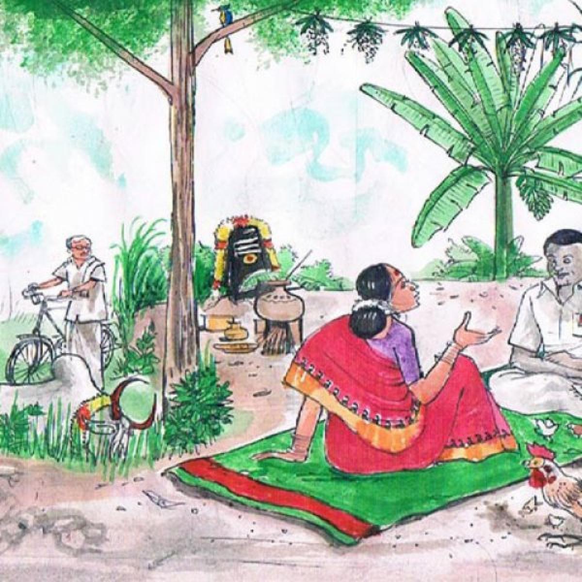 மரத்தடி மாநாடு: பட்டு விவசாயிகளுக்குப்  பரிசுத் திட்டம்!