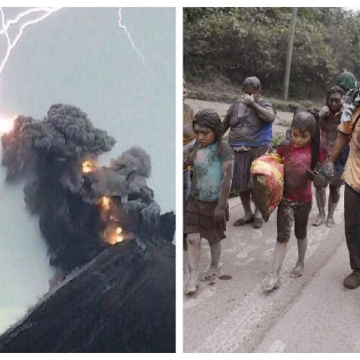 25 பேரின் உயிரைப் பறித்த எரிமலை... சாம்பலால் மூடப்பட்ட கிராமங்கள் # ShockingVideo