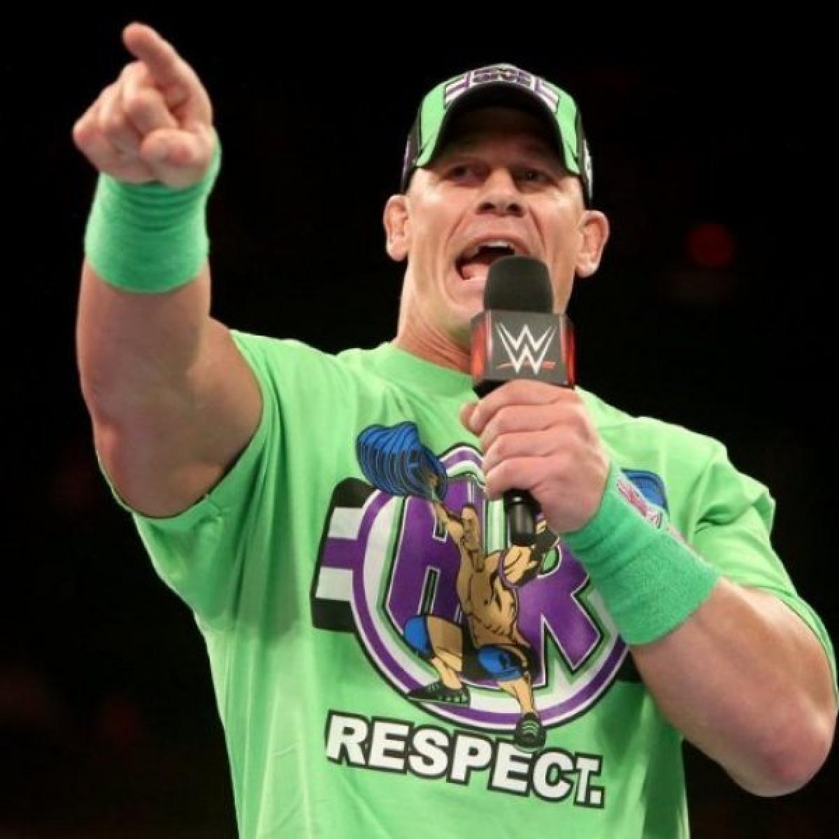 16 முறை WWE சாம்பியன்... ஆட்டியூட் அட்ஜஸ்மென்ட்! U can't see me! #HBDJohnCena