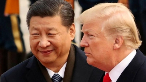 Trump and Xi Jinbing