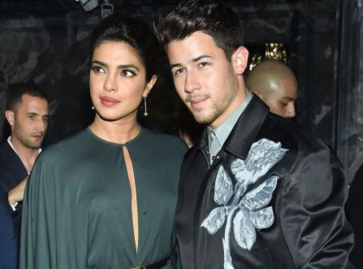 Priyanka Chopra with Nick