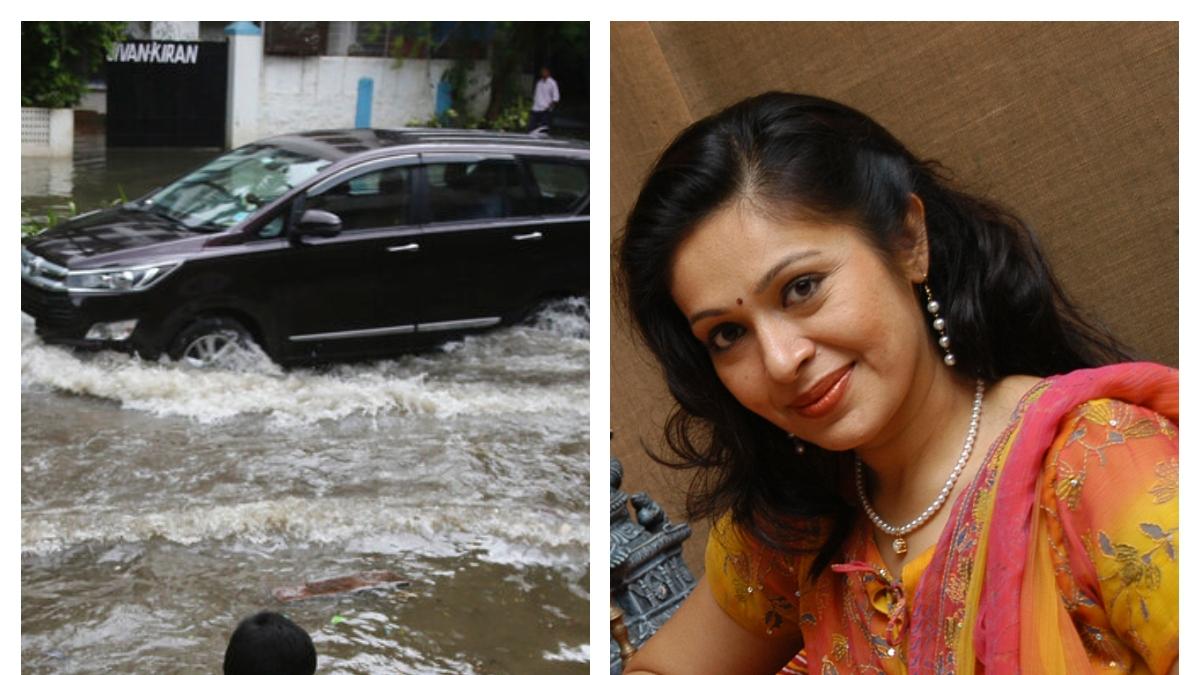 மும்பை வெள்ளம் மற்றும் நடிகை ரூபிணி