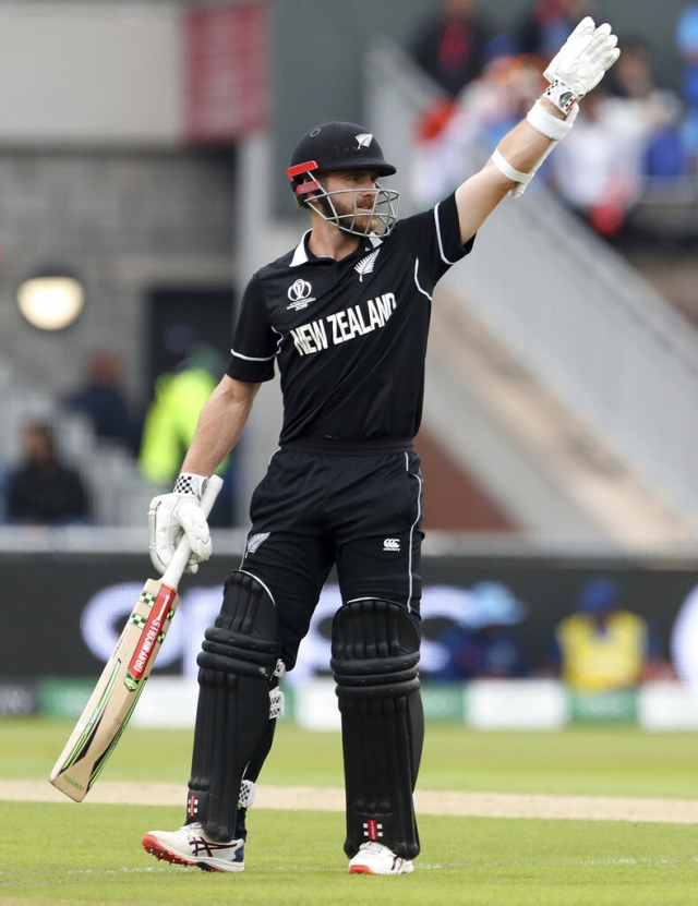 New Zealand's captain Kane Williamson.