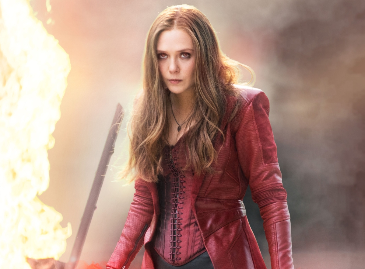 Elizabeth Olsen from Avengers: Endgame