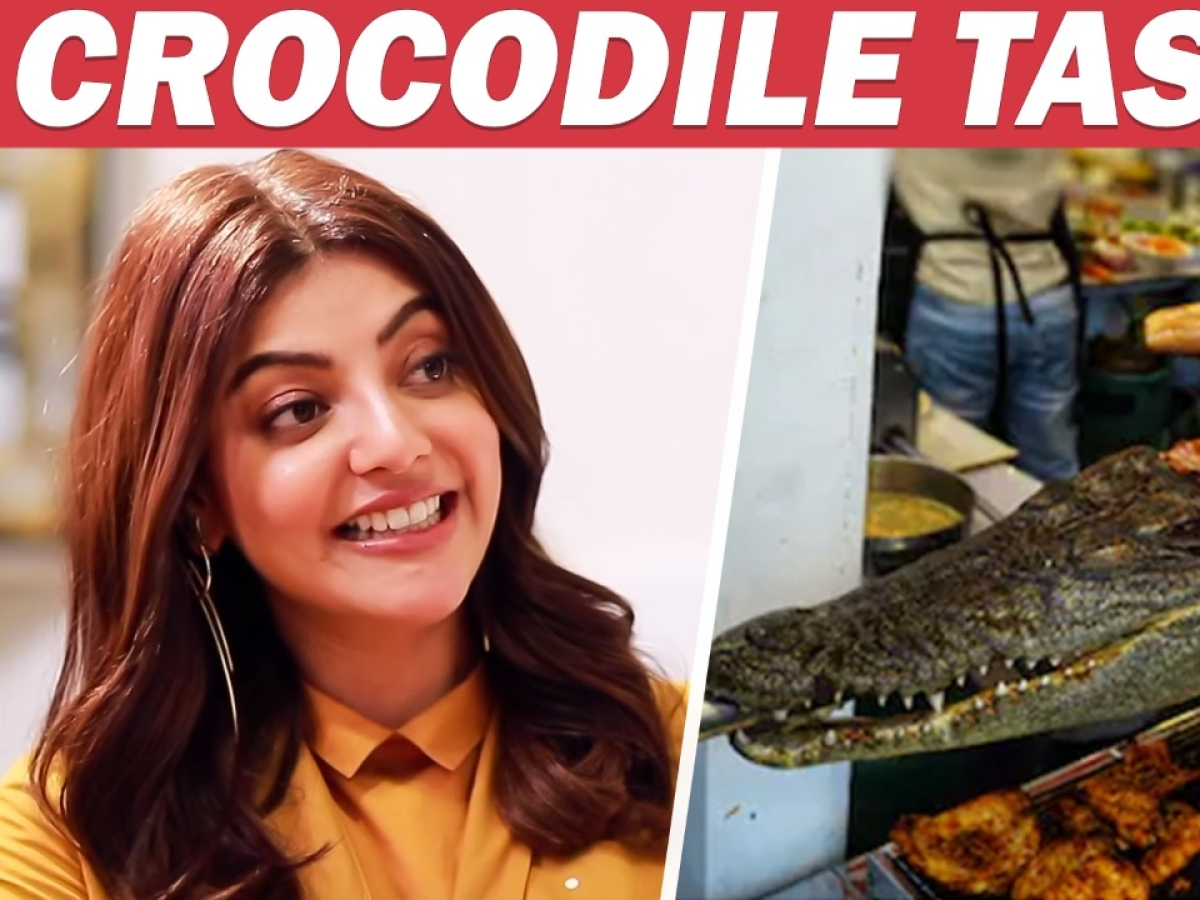 MUST WATCH: I ate Crocodile; Bill 60K Rs - Kajal Aggarwal JOLLY Chat | Comali
