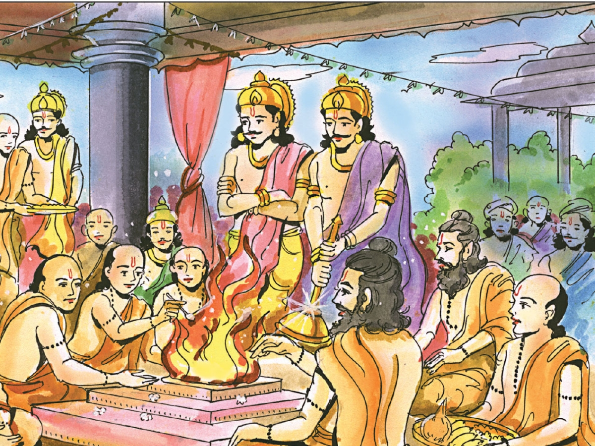 தருமரையும் விஞ்சிய அந்தணர்!