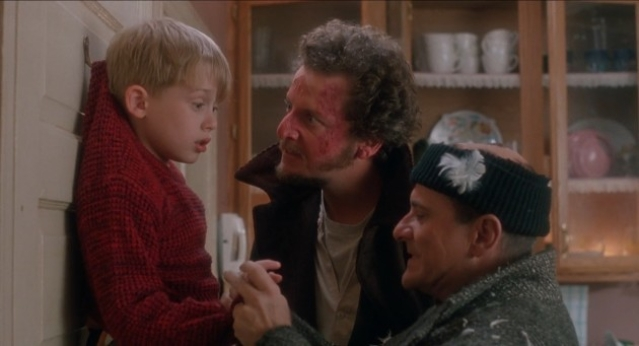 A still from `Home Alone'