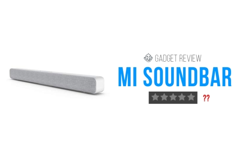 MI Soundbar Vikatan gadget review